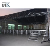 Fase esterna di alluminio portatile antisdrucciolevole di evento di concerto di Rk per la prestazione