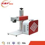 máquina portátil da marcação do laser da fibra do metal do mini punho 20W