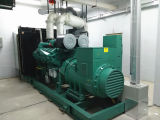 Cumminsの無声ディーゼル発電機水によって冷却される200kw 250kVAの発電機