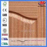 Disegni di legno del portello dell'impiallacciatura della quercia dei portelli di legno ultimi (JHK-S05K)