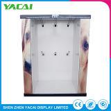 Custom прочного безопасности напольная бумаги выставочный стенд