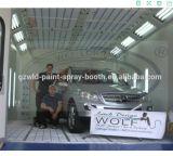 Cabina de aerosol auto Wld8400 con el sistema a base de agua de la pintura