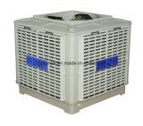 O sistema de ventilador de resfriamento evaporativo do Brasil do Resfriador do Ar de água com reservatório de PP