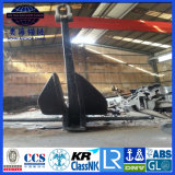 potencia de tenencia del ancla de Danforth del ABS de 10000kgs 13600kgs BV LR alta
