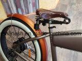 26X4white 벽 타이어 250/500/750W 포도 수확 함 E 자전거 또는 고전적인 뚱뚱한 전기 자전거 또는 바닷가 함 전기 뚱뚱한 자전거 또는 향수 뚱뚱한 Pedelec 또는 Retro Pedelec 36V