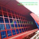 Ausdehnbarer elektrischer Vorhang-halb Schlussteil
