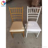 Stacking Aluminum/Iron hotel Wedding chair Hly-Cc022