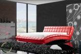 Späteste Schlafzimmer-Möbel-modernes doppeltes Bett
