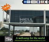 Wellcampのフラットパックの容器の家の贅沢のタイプ