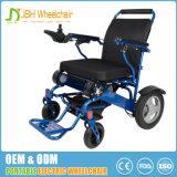 Preço barato que dobra a cadeira de rodas elétrica da potência ao ar livre para a venda