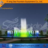 Fuente flotante del tanque de agua de la música de Seafountain con el ordenador