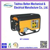 Bt2500d 2.5kw 6.5HP AC 3段階の携帯用反動ガソリン発電機