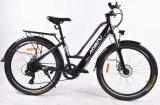 Скрытые велосипеда города электродвигателя аккумуляторной батареи