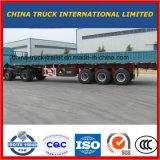 Het Beste Merk van China omheining-als de Semi Aanhangwagen van het Vervoer van de Lading stortgoed