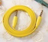 3.5mm Zusatz Zusatzkabel-zum Audiokabel-Mann zur männlichen Zusatz kupfernes Kabel-Kopfhörer-/Auto-Stereolithographie/zum Telefon-/Lautsprecher-Audio
