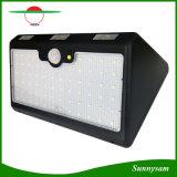 66 LED-hohes Lumen-Solarbewegungs-Fühler-Licht-im Freien wasserdichtes Sicherheits-Wand-Lampe SolarGardent Licht