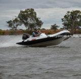 Barco inflável barato de Liya 4.3m Hypalon com o motor para a venda