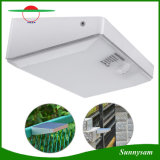 庭のヤードのための屋外の無線電信48 LEDの動きセンサーの機密保護の太陽ライト
