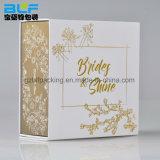 Impression personnalisée carton boîte cadeau magnétique (FLO-go018)