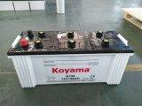La vendita calda 12V 150ah asciuga la batteria standard caricata N150 accumulatore per di automobile JIS