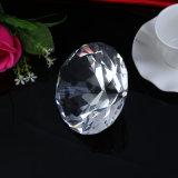Новый дизайн красивые стеклянные Diamond вес бумаги, декоративные Crystal Diamond