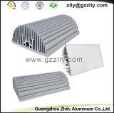 La protuberancia de aluminio del disipador de calor del material de construcción perfila el radiador del aluminio del disipador de calor