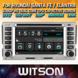 Witson Windows Car Multimedia player de DVD para a Hyundai Santa Fe 2007 2011 Elantra 2000 2006
