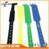 Wristband PVC устранимый RFID высокой эффективности для франтовского телефона