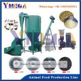 Les ingénieurs de l'installation disponibles pour la ligne de production de pellets d'alimentation