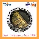 Los engranajes de anillo interior de acero al carbono utilizado en una caja reductora de velocidad