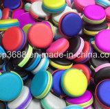 Fermeture à glissière EVA personnalisé toutes les couleurs disponibles Cas d'emballage de transport de l'écouteur