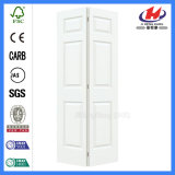 Las puertas de armario Bifold pino Bi puerta plegable PVC bi de Reino Unido de Gran Tamaño plegado 6 Panel puertas