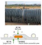 Tubo ondulato a spirale di rinforzo dell'HDPE