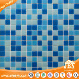 Blauer Farben-Mosaik-Swimmingpool und Bad-Fliese-Glasmosaik (H420010)