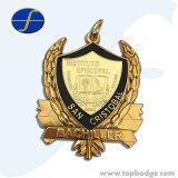 昇進はスポーツメダルギフトのための卸し売り金属賞メダルをカスタマイズした