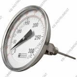 """Hoge of Lage Temperatuur 2 """" 3 """" 4 """" 50mm, 75mm, 100mm, de Maat van de Temperatuur/BimetaalThermometer"""