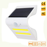 Sonnenkollektor-u. Lithium-Batterie mit Wand-Lampe des Fühler-LED