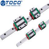 Grande Durabilidade como bloco de Trilho Linear Hiwin HGH20ca Hgr20 para equipamentos de automação de fábrica