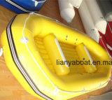 Liya barata balsa inflable barco bote de remos para la venta