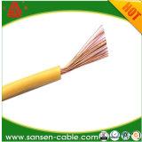 Seul Conducteur en cuivre nu massif, H05V2-U, ce certificat, seul le fil de base, câble d'alimentation de 6 mm2