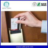Carte principale d'hôtel de contrôle d'accès d'IDENTIFICATION RF de PVC T5577