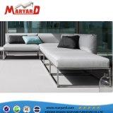 Диван из нержавеющей стали простая конструкция диван-кровать, диван из нержавеющей стали,