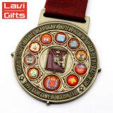 Medalla de encargo del deporte de la concesión del recuerdo del cobrizado de la aleación del cinc de la promoción