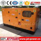 generatore diesel insonorizzato del motore di 110kVA Lovol