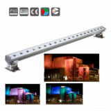 Outdoor High Power RVB LED Wall Washer Bar Light pour éclairage de façade