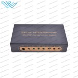 scambista Port HD pieno 1080P di 4K 3X1 3 HDMI 1.4 HDMI audio tramite telecomando di IR