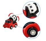De mini Duw van het Speelgoed van Auto's en gaat het Speelgoed van het Model van de Vrachtwagens van de Bouw