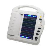 Portable de 12 canaletas caixas Javier da máquina 250 da máquina EKG do electrocardiógrafo ECG de Digitas da tela de toque de 10 polegadas TFT LCD