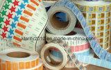 Collant froid d'adhésif de Stampling d'étiquette cosmétique de garantie d'OEM