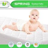 赤ん坊のマットレス防水カバーまぐさ桶の寝具シートの保護装置の深いパッドの柔らかい綿